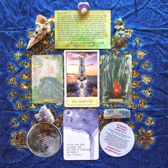 MoonCoaching™ Astro.Tarot.Ology™ Message for Pisces Moon (Still Full) August 17-18, 2019: