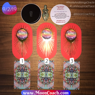 MoonCoaching™ AstroTarotOlogy™ :  Pick A Card for the Libra Crescent Moon Phase in the Virgo New Moo