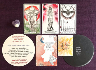 MoonCoaching™ Astro.Tarot.Ology™ Message for 8/3-4/19: