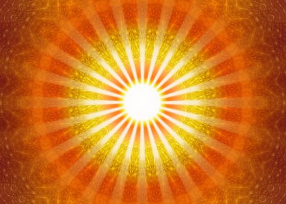 Radiating pure solar fire