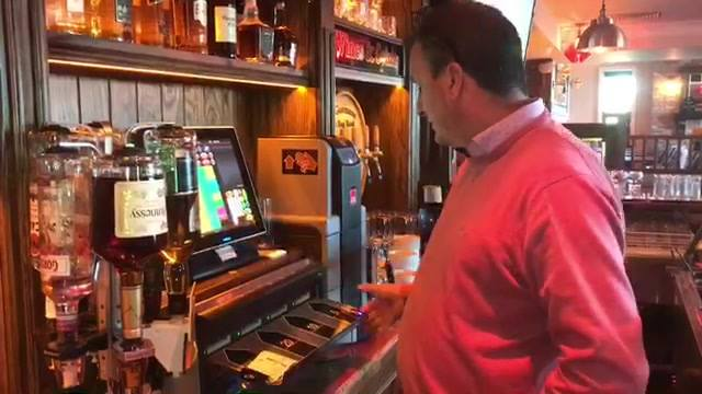 Bar/Off license owner Portlaoise, Co Laois with CashGuards