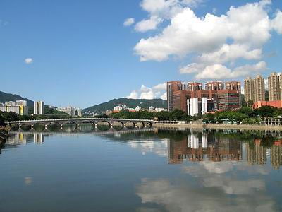 沙田城門河