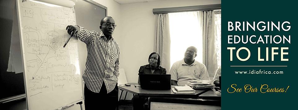 Photo of Paul James Mbanga and Dr. Charles Oyaya