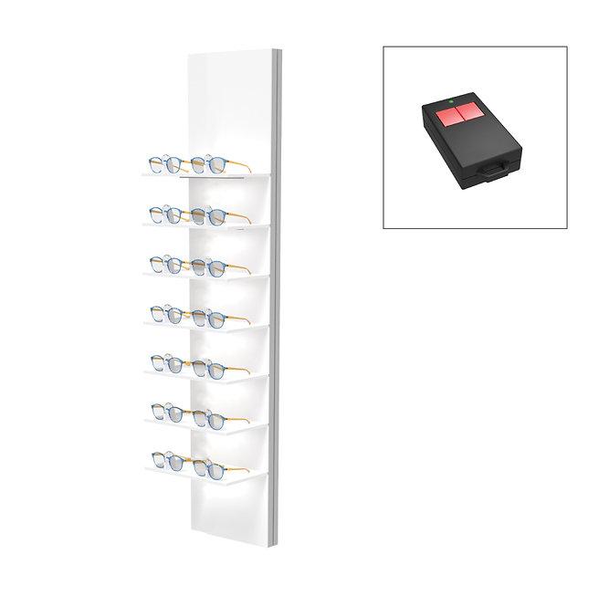 Présentoirs Unilock 7 étagères 14 montures sécurisée