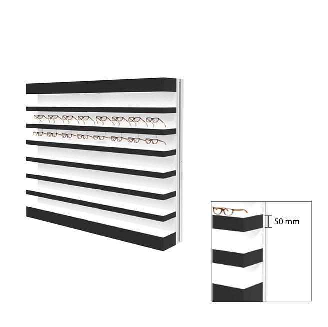 Présentoir Quadro Slim 7 étagères 70 montures