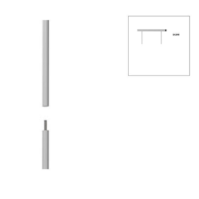 Colonne téléscopique - pièce d'installation