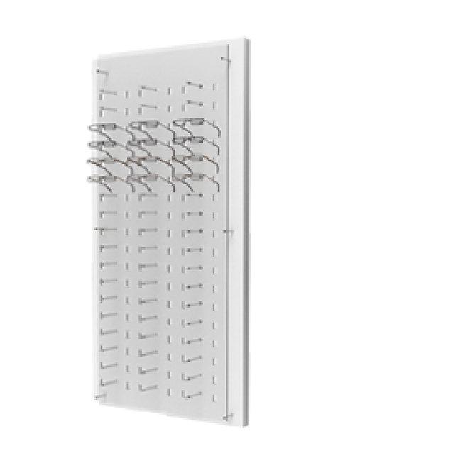 Présentoirs WP avec un plaque en acrylique transparente de 54 montures