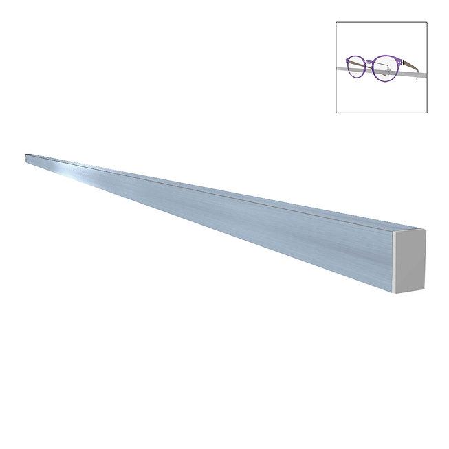 Rail en aluminum CL