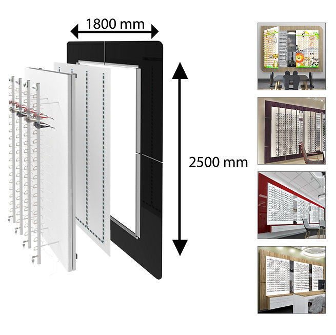 Multilayer Back 1800x250 acrylique