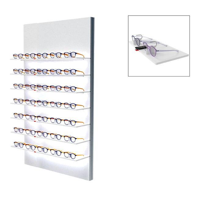 Présentoirs Unilock 7 étagères 28 montures