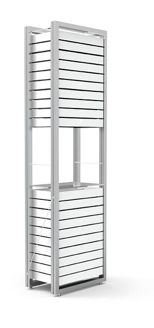 Armoire haute avec 20 tiroirs et 1 étagère