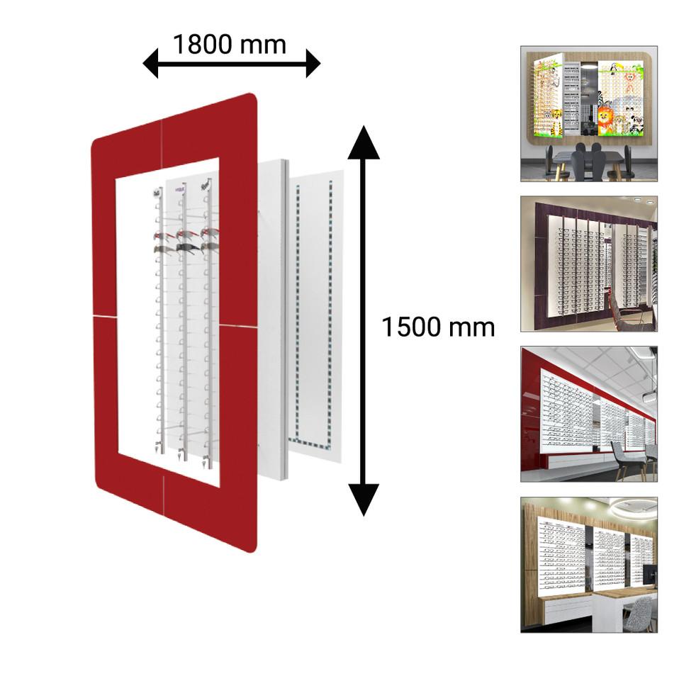 1800X1500 mm