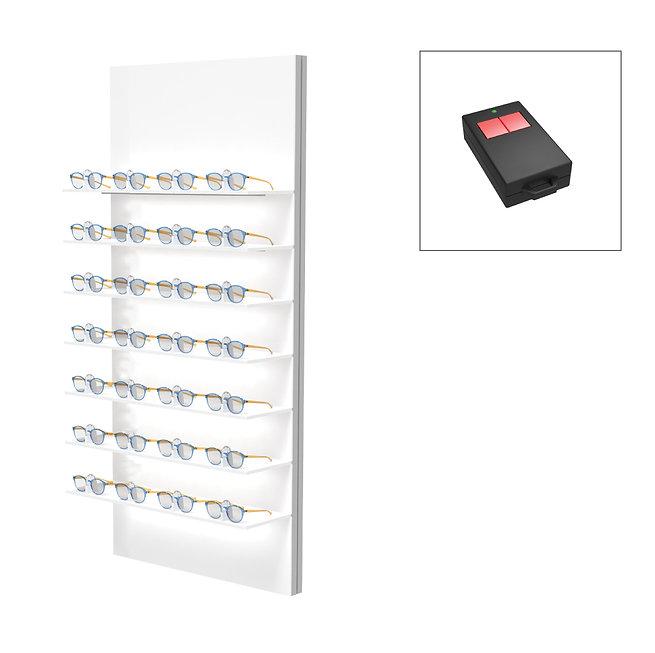 Présentoirs Unilock 7 étagères 21 montures sécurisée