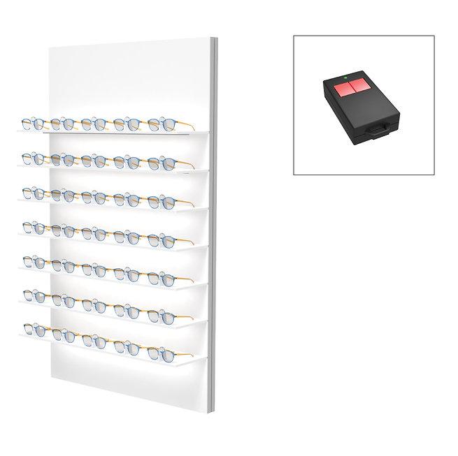 Présentoirs Unilock 7 étagères 28 montures sécurisée