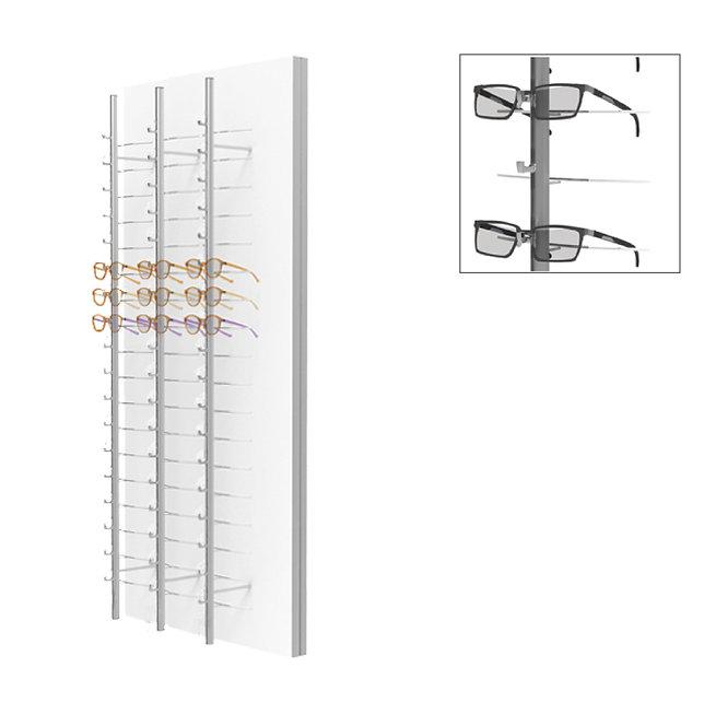 Présentoirs WP standards avec 3 colonnes ouvertes RR.MC.18