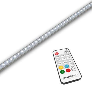 Éclairage LED blanc pour table de vitrine SC