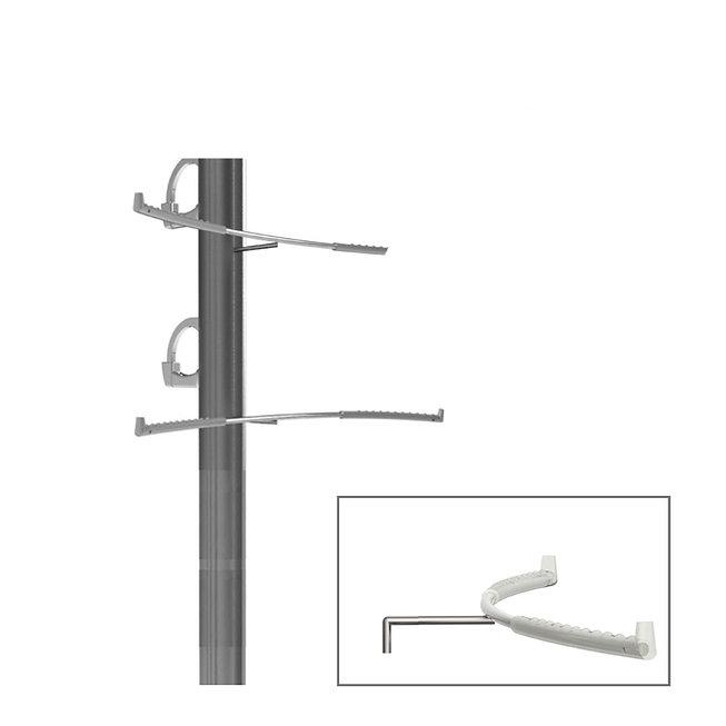 Support arrière pour des montures silicone