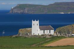 Ballintoy Church Rathlin Island