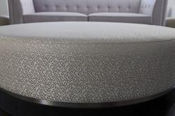 Large modern pouffe