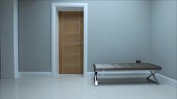 Cool minimalist hallway Five Star Glass Island