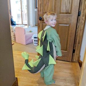 Halloween Costume Dinosaur Sewing Pattern