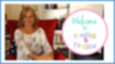 Video Thumbnail for welcoming people to the Frocks & Frolics site selling pdf patterns for girls and boys