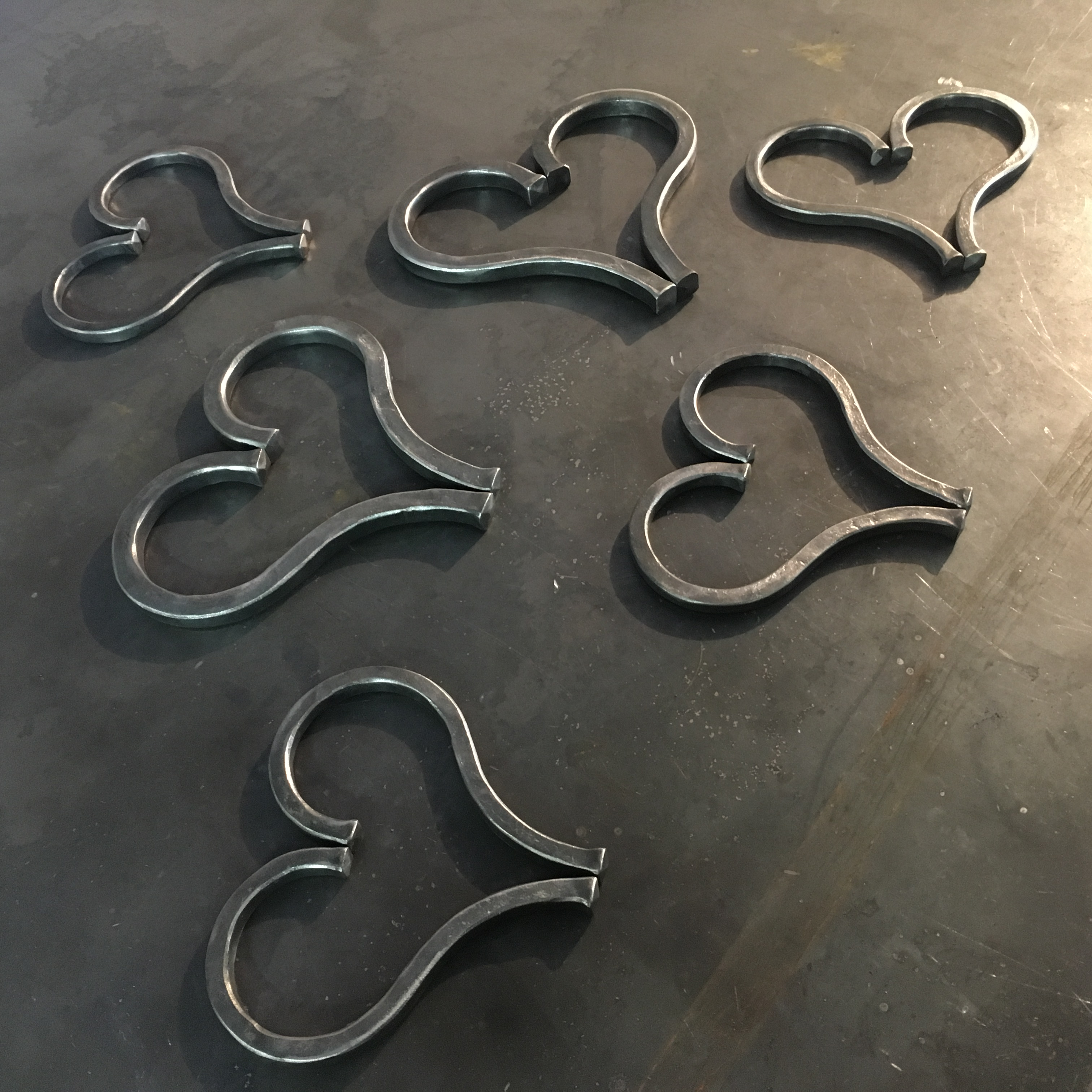 Hand Forged Hearts