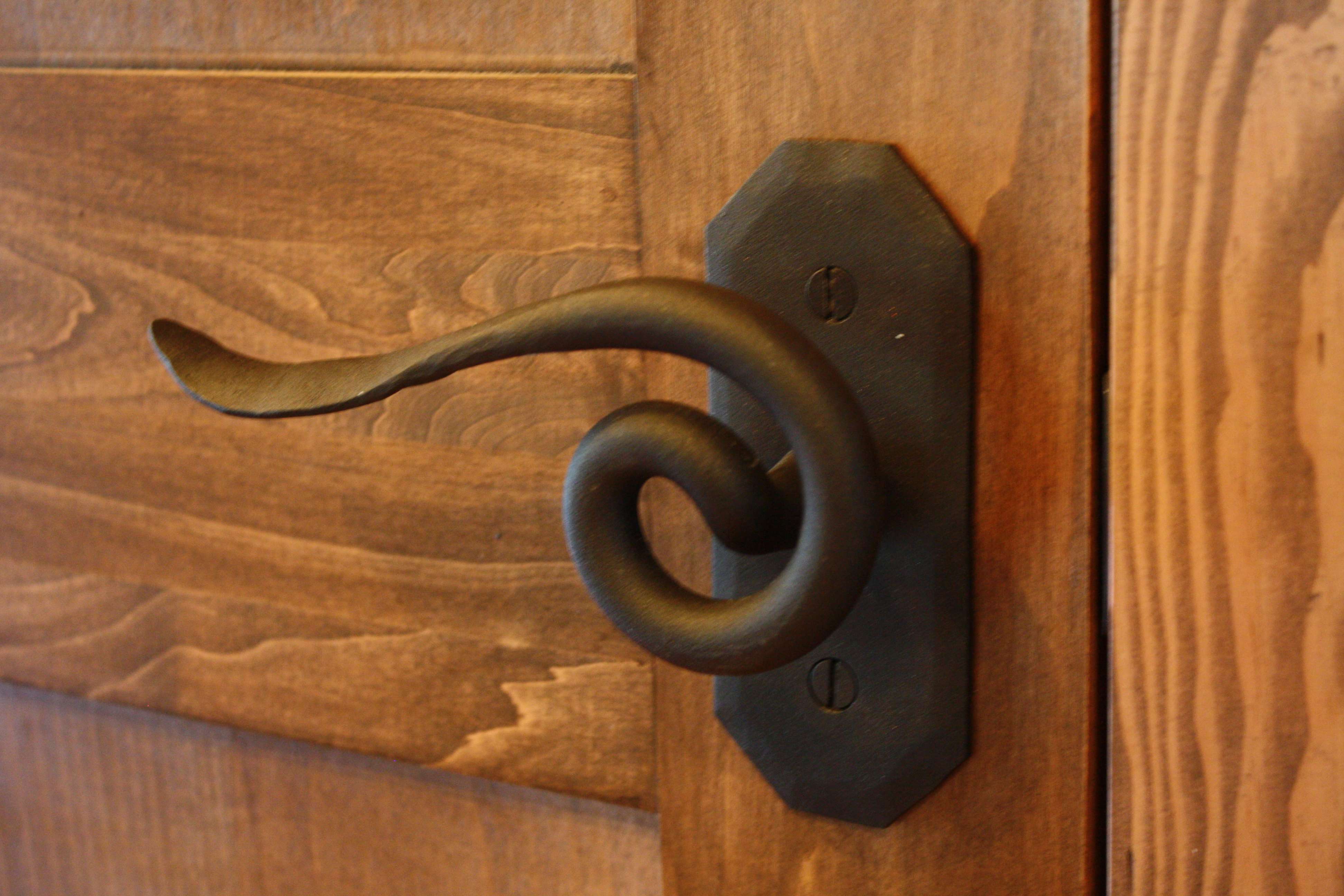 Hand Forged Door Handle