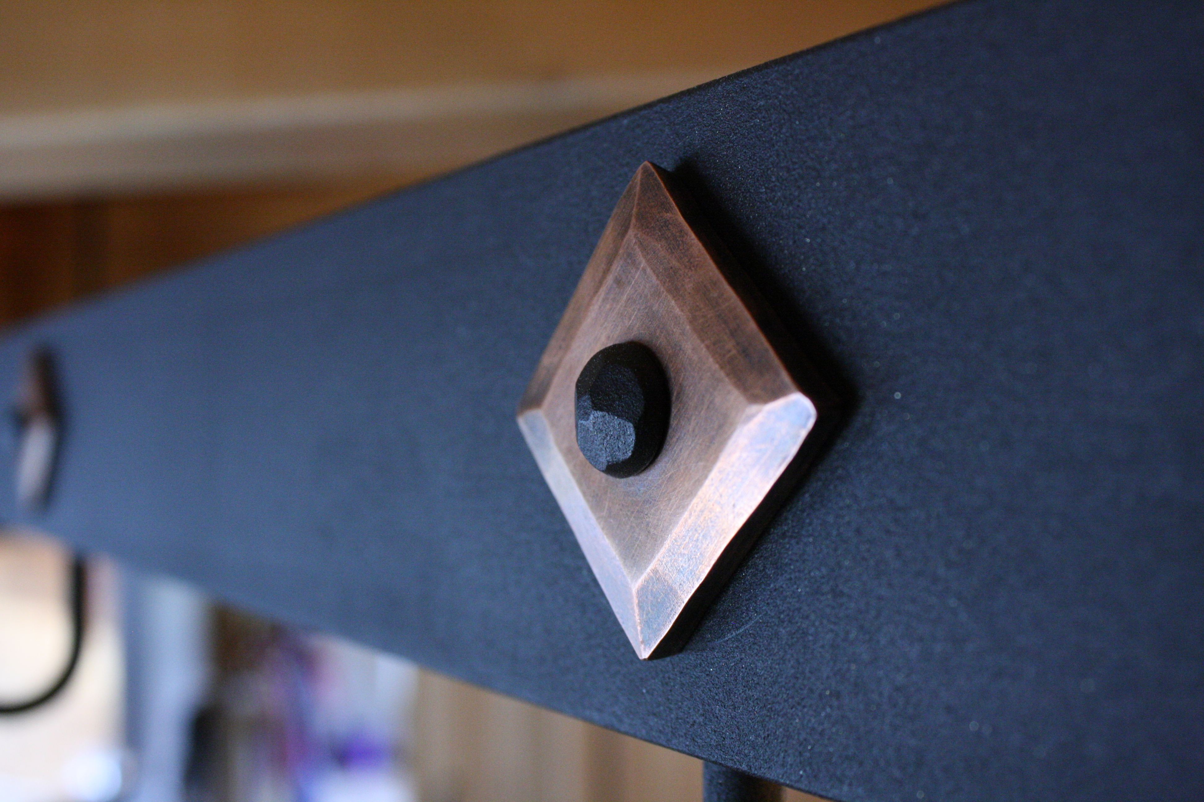 Copper Washer on Pot-rack