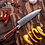 "Thumbnail: 8"" VG10 Stainless Steel Damascus Chef's Knife"