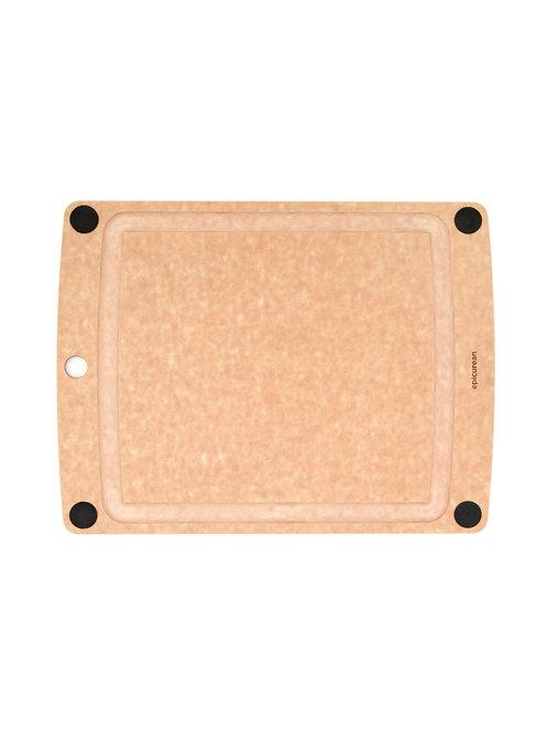 """Epicurean All-In-One 15"""" x 11"""" Cutting Board - Natural"""