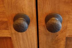 Hand Hammered Door Knobs