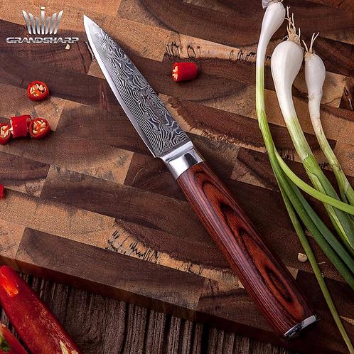 "3.5"" VG10 Stainless Steel Damascus Paring Knife"