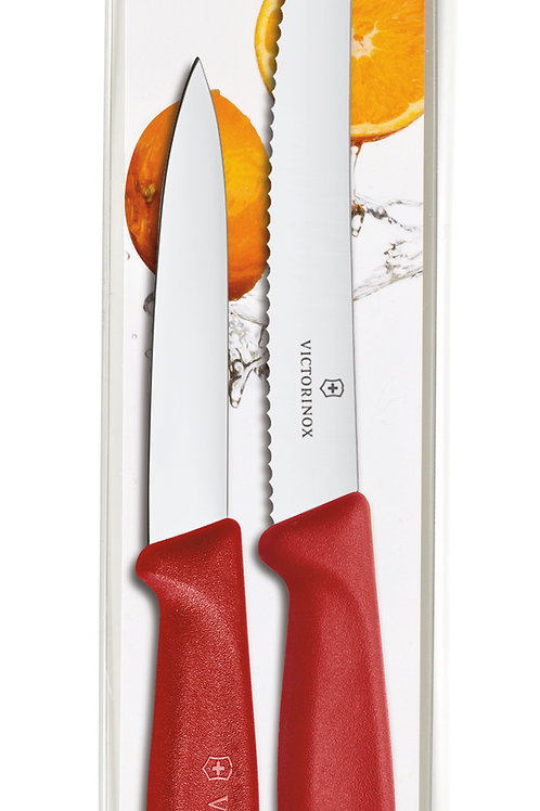 Victorinox Swiss Classic Utility/Paring Combo Pack RED