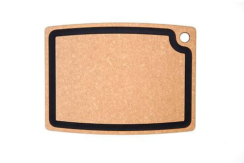 """Epicurean Gourmet Series  18"""" x 13"""" Cutting Board - Natural/Slate"""
