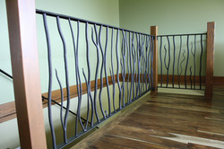 Hand Forged Railing