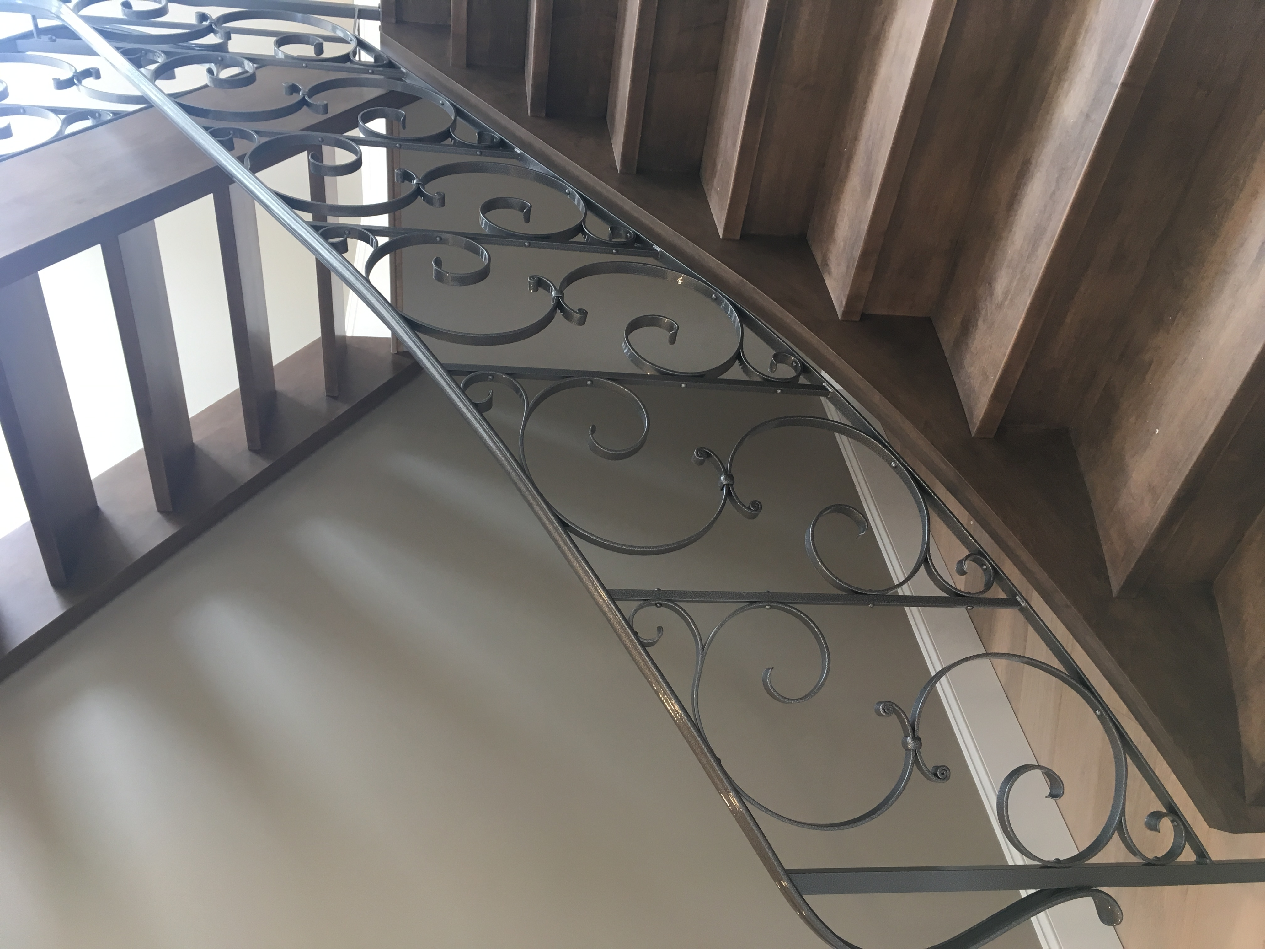 Hand Forged Ornamental Railing