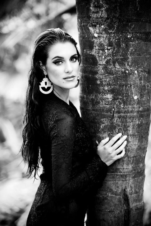 Beauty Tropical Portrait
