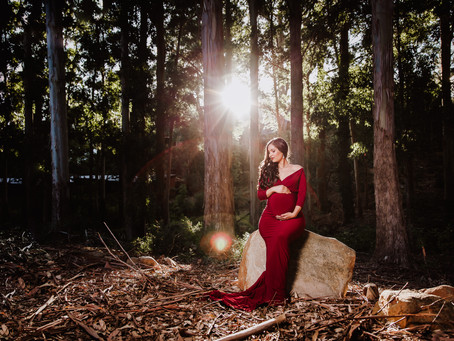 Styled Maternity Shoot ~Azure Heynes