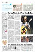 Hubertus Rösch Bob Dylan