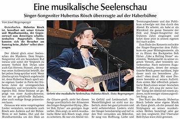Bob Dylan Hubertus Rösch