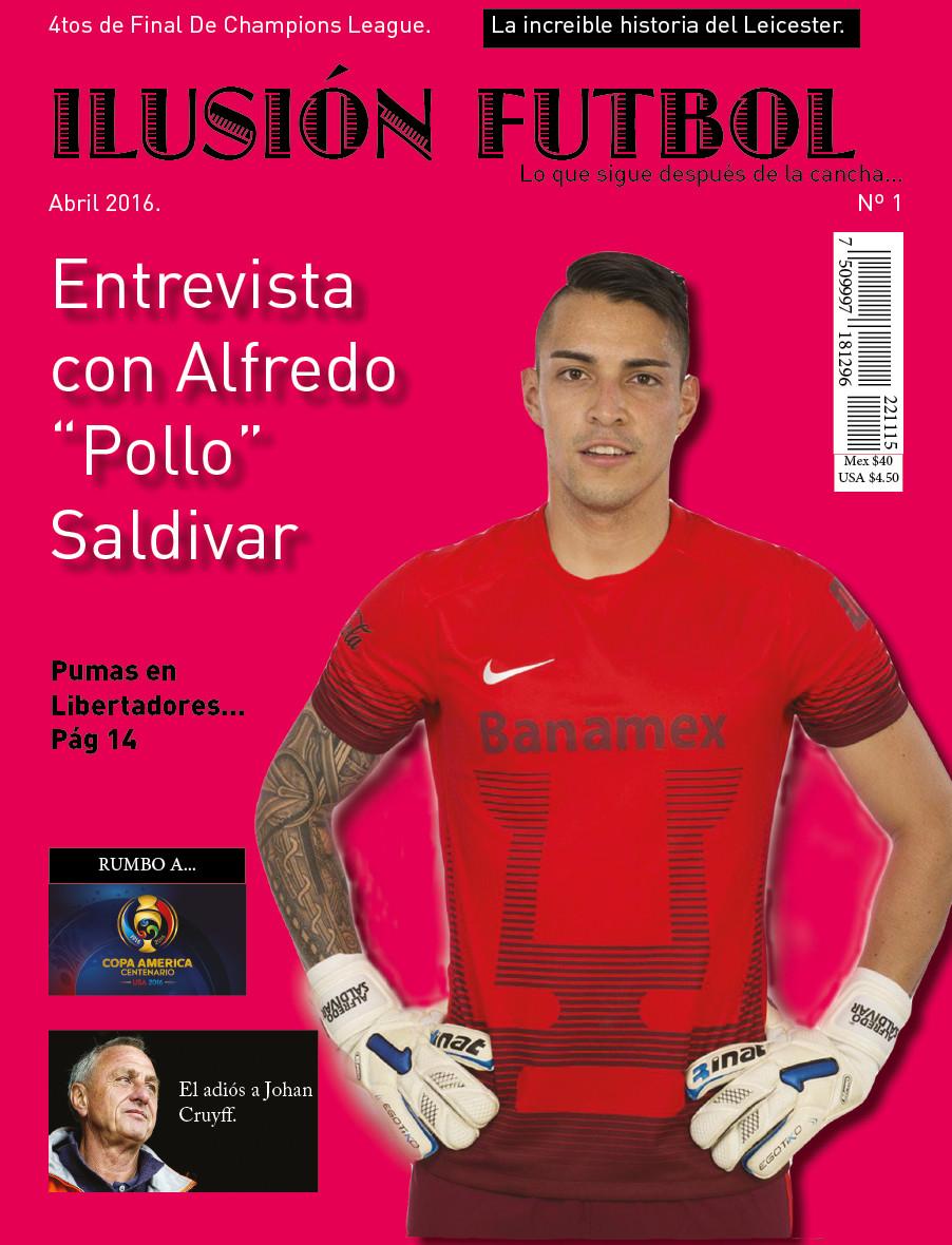 """2c36c35169 Portada revista """"Ilusión futbol""""."""