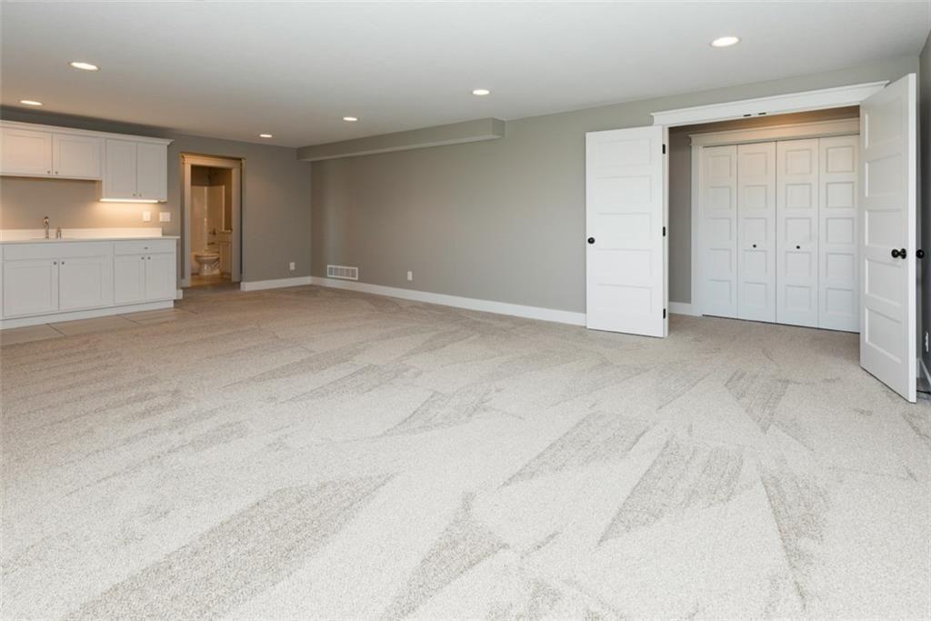 Buckeye Basement Living Space