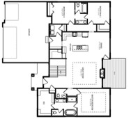 Sage Homes Bayberry Main Level