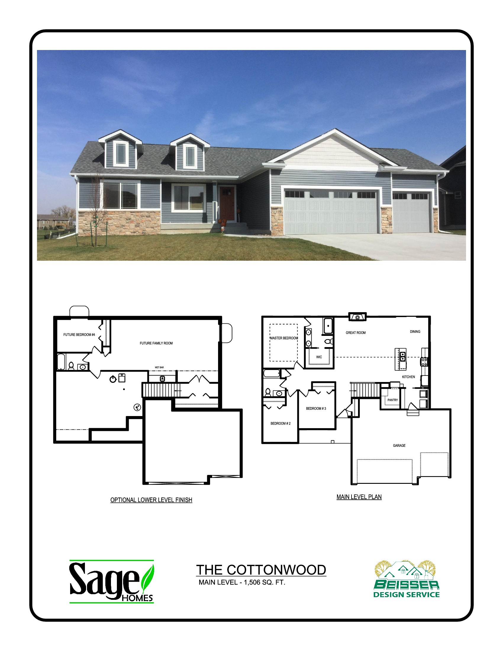 Cottonwood Floorplan