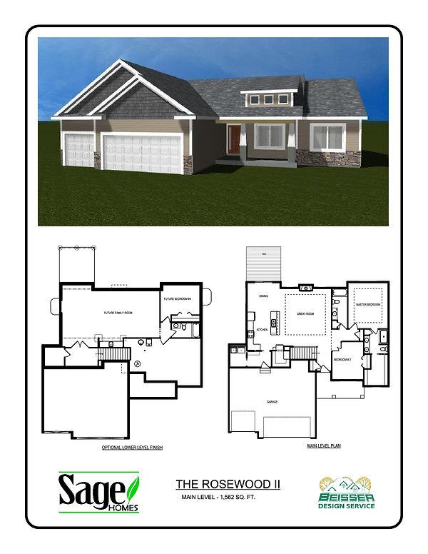 Rosewood II Floor plan