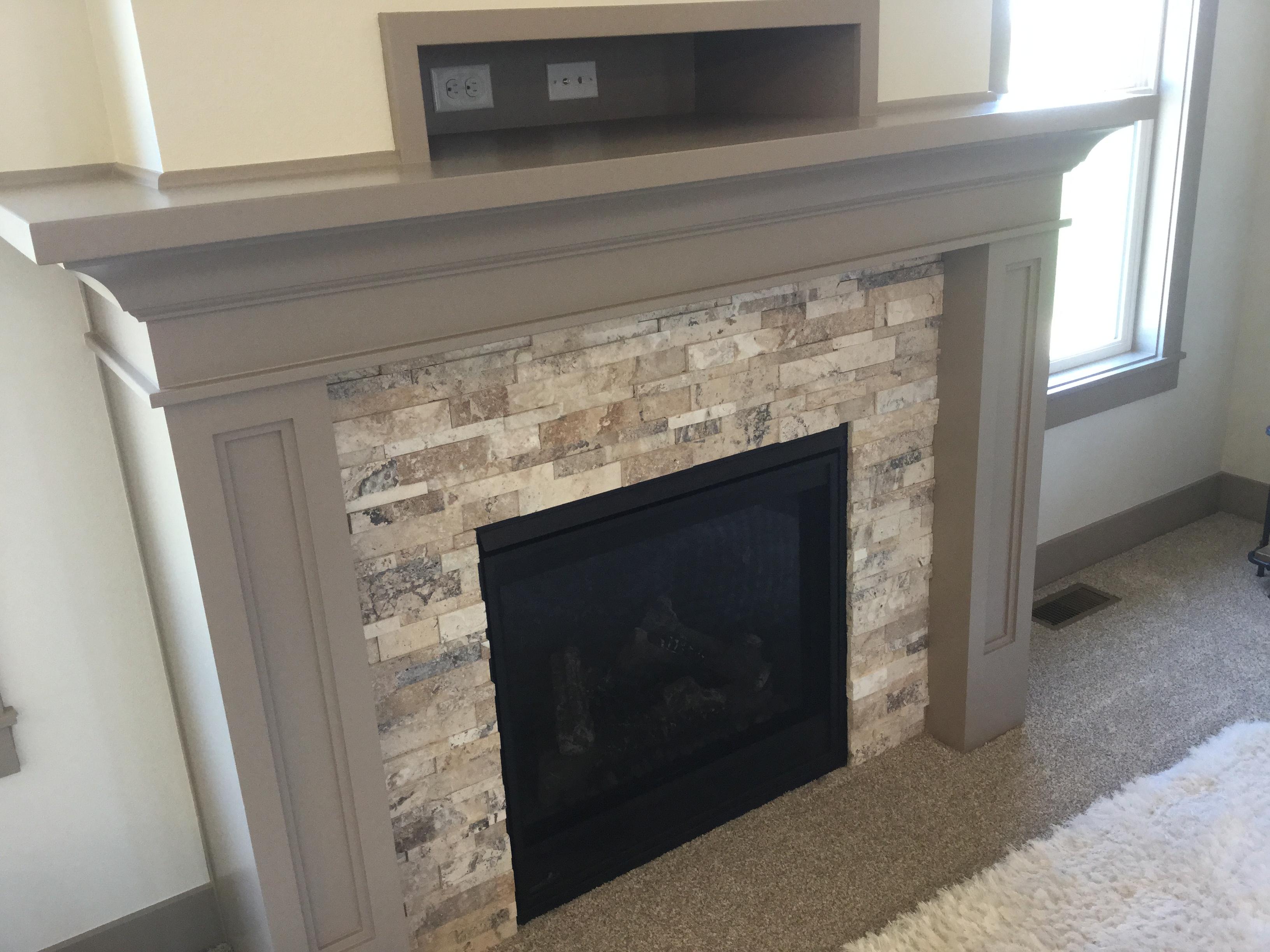 Magnolia Standard Fireplace
