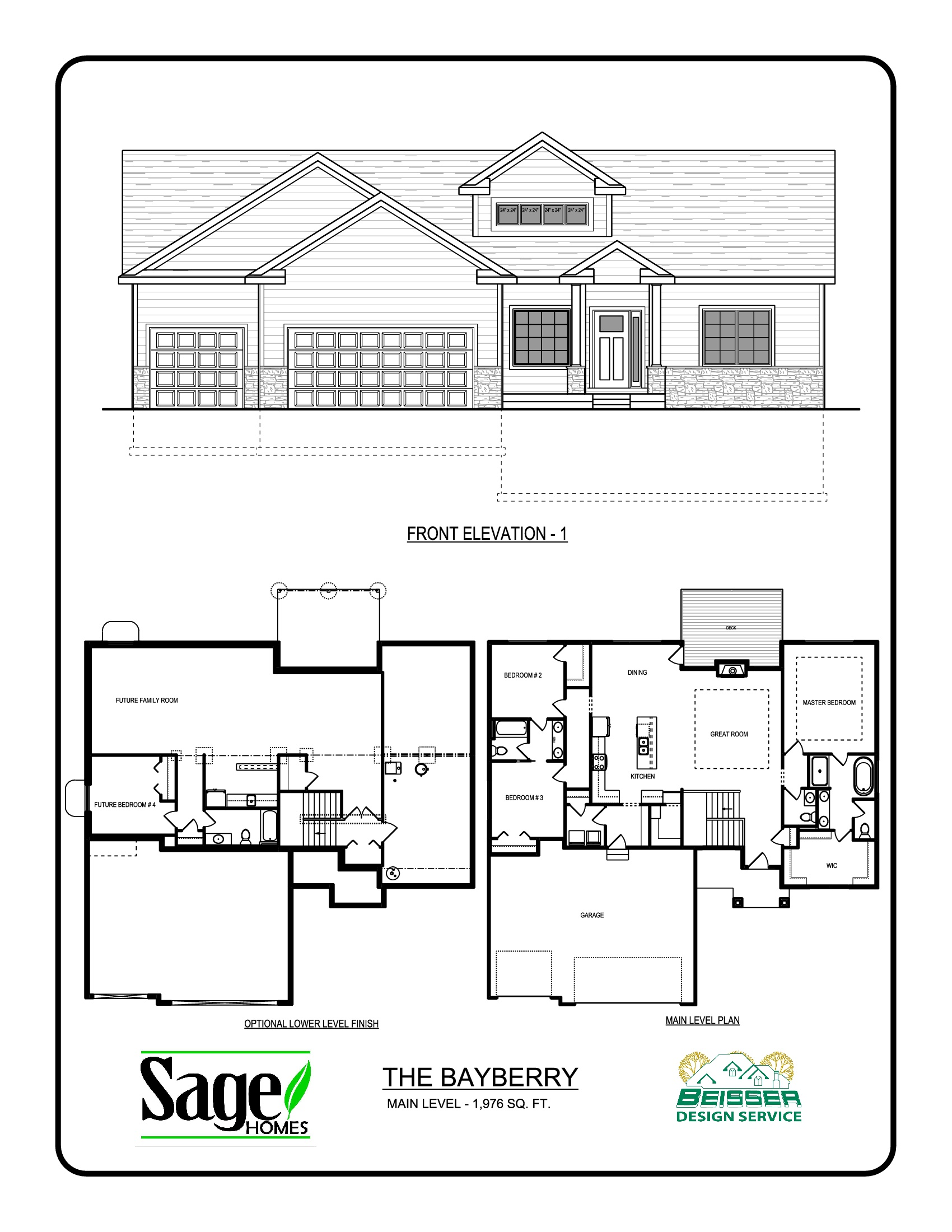 Bayberry Floorplan