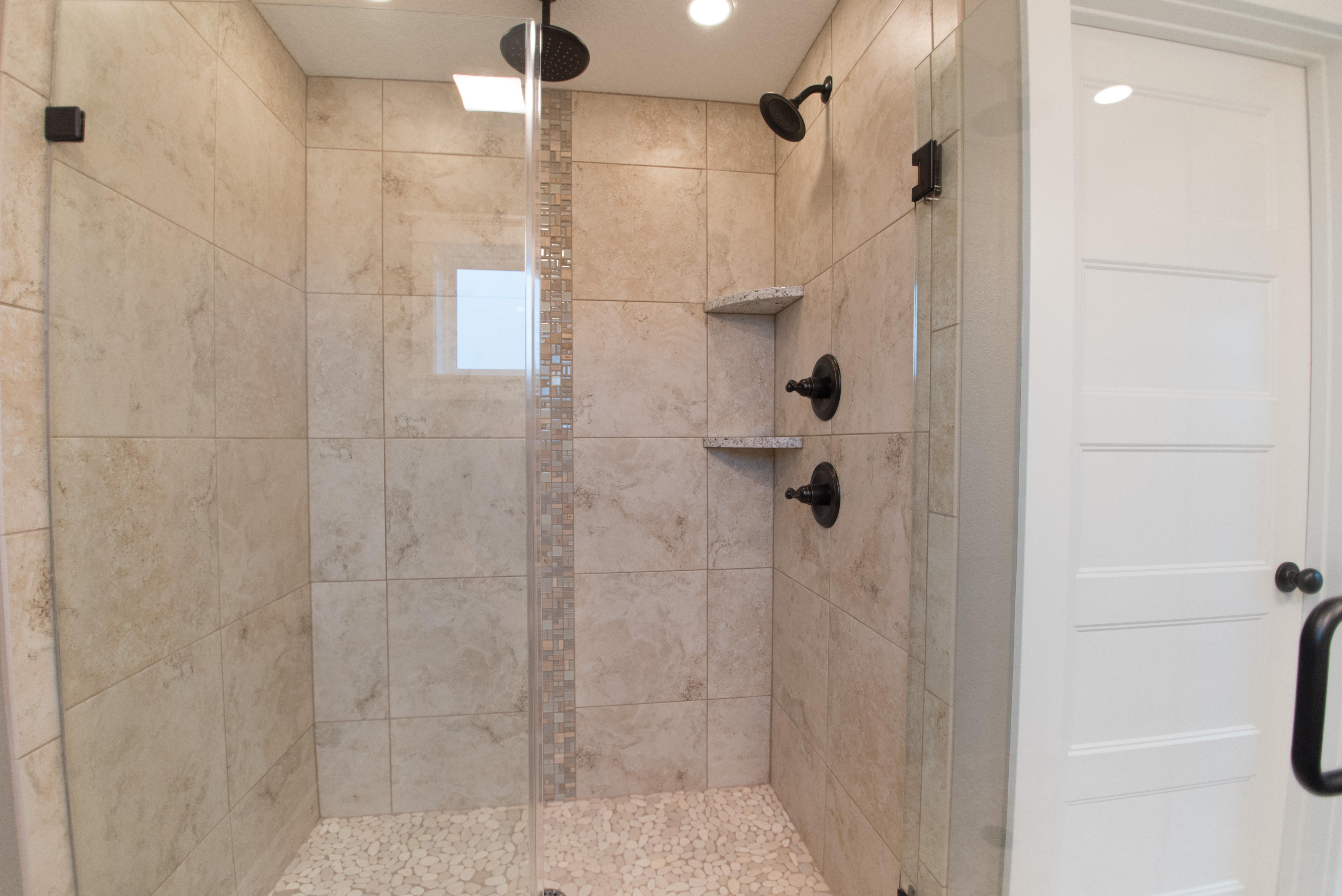 Rosewood Tile Shower