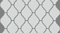 Lantern Mosaic- White